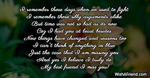 I, Remember, Those, Days, When, We, Missing, You, Message, For, Friends