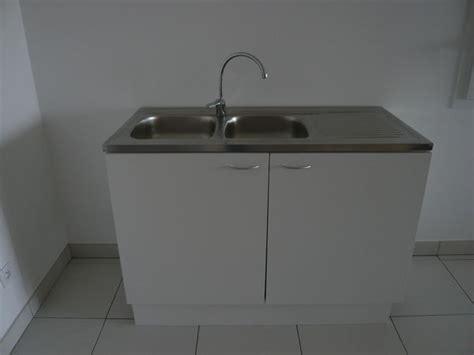 prix syphon cuisine bloc évier inox 2 bacs avec meuble et robinet neuf en clasf maison jardin