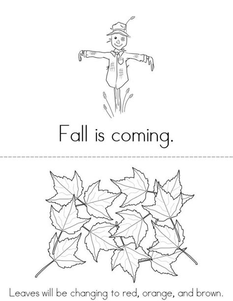 Fall is Coming Book - Twisty Noodle