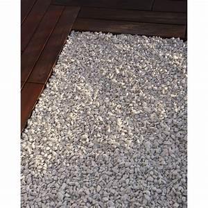 graviers en marbre concasse blanc 8 16 mm 1 t leroy With decoration exterieur pour jardin 16 salle de bain a l italienne