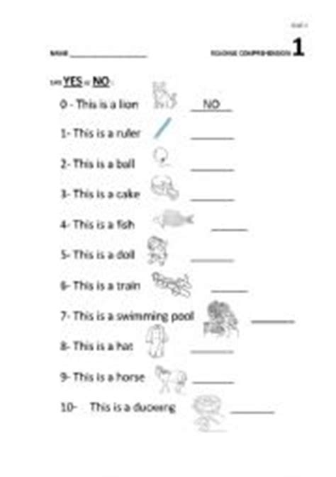 reading comprehension 1 for year 3 esl worksheet by