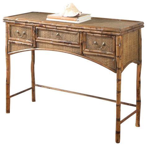 uttermost console tables bombay console desk tropical console tables by kenian