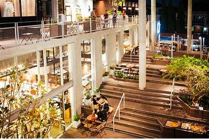 Commons Bangkok Mall Community Commerce Lots Stairs