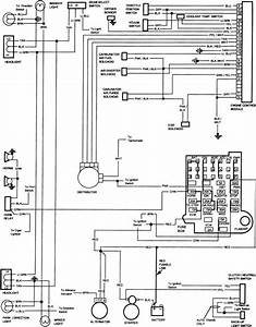 Labeled Fuse Box Diagram For 1986 Truck