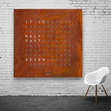 buy the biegert funk qlocktwo large at questo design