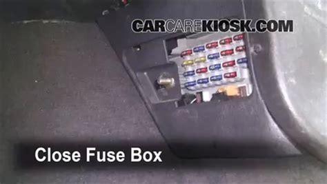interior fuse box location   jeep grand cherokee