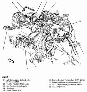 2001 Chevy S10 Engine Diagram