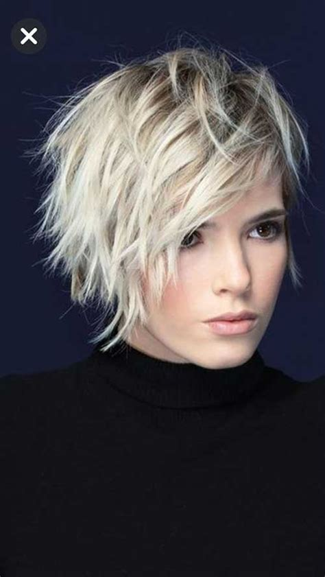 best pics of layered short hair for round face short haircut com