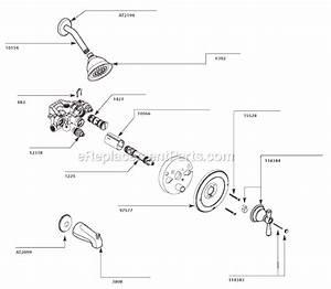 Moen T3112 Parts List And Diagram   Ereplacementparts Com