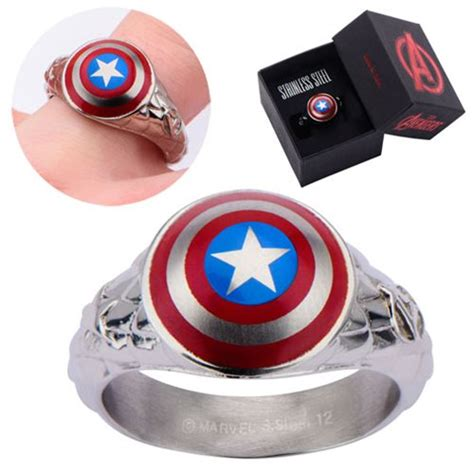 Captain America 3d Shield Ring  Body Vibe  Captain. Raw Amber Rings. Shark Tooth Rings. 0.34 Engagement Rings. Police Rings. Going Steady Engagement Rings. Big Cartoon Diamond Wedding Rings. Geometric Rings. Baby Footprint Rings