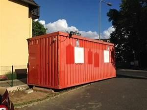 Buro container fenster laminat 6 x 24 m auch als for Französischer balkon mit garten container