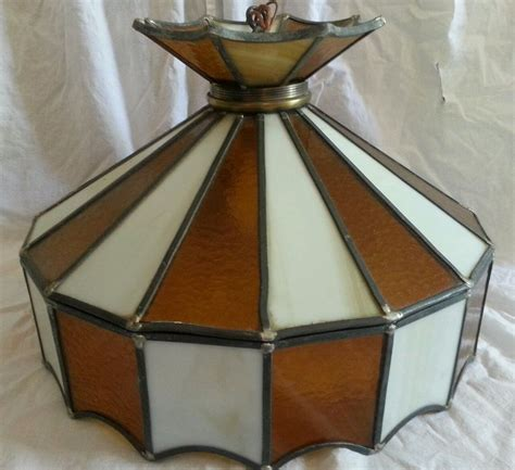 stained glass hanging light fixture vintage stained glass ceiling hanging light l fixture