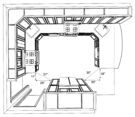 corner pantry cabinet dimensions is this enough space to walk through the kitchen
