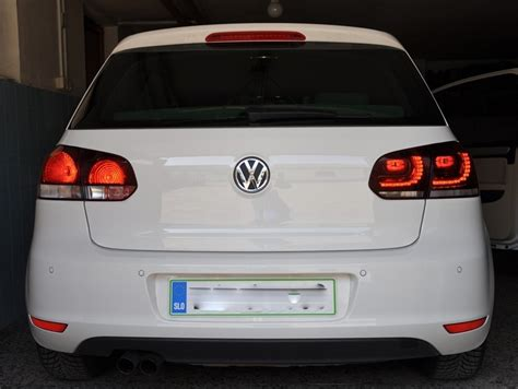 oem led taillights for vw golf 6 gti for 450 00