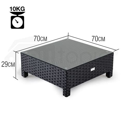 See more ideas about outdoor coffee tables, coffee table, furniture. Black Outdoor Coffee Table | Shop London Rattan Coffee Tables