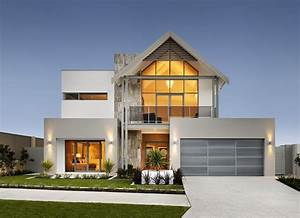 modern double story house designs double storey house With double story modern house plans
