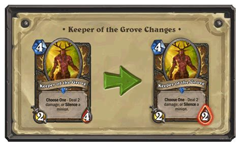hearthstone news druid combo expectedly killed in classic