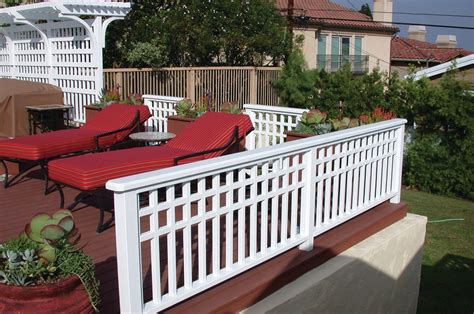 custom railings professional deck builder fencing