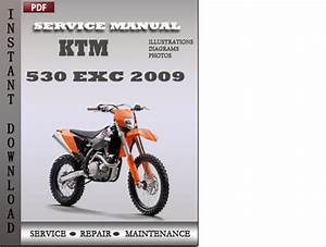 Ktm 530 Exc 2009 Factory Service Repair Manual Download