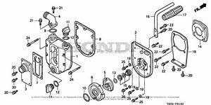 Honda Wx10 A2 Water Pump  Jpn  Vin  Wzbr