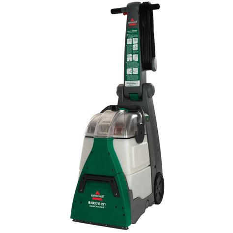 upholstery steam cleaner shop bissell big green 0 speed 1 75 gallon upright carpet
