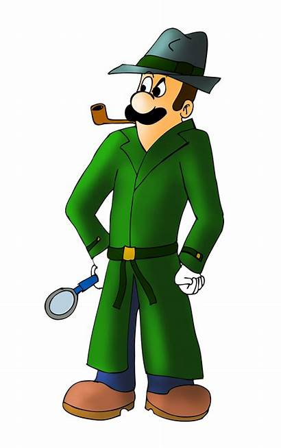 Detective Private Luigi Clipart Zefrenchm Transparent Investigation