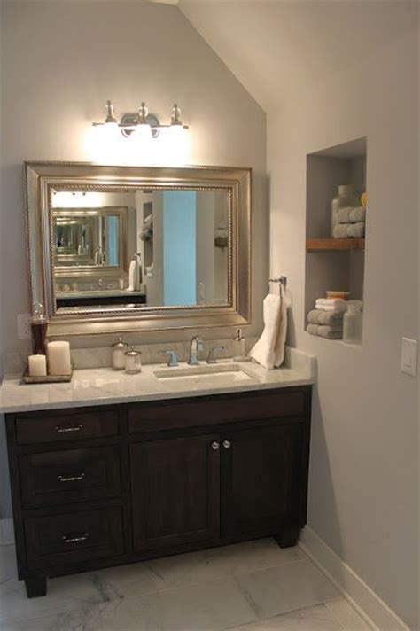 bathroom vanity with offset sink love the vanity and mirror offset sink to one side