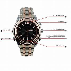1080P HD waterproof Watch Camera with Motion Detection,Spy ...