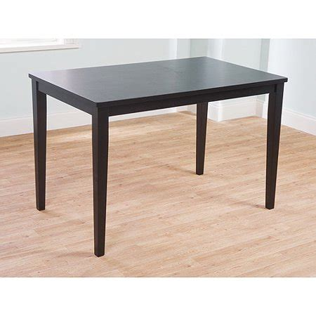 kitchen tables walmart contemporary dining table black walmart