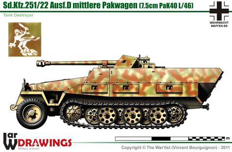 sd kfz 251 22 ausf d