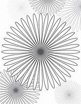 Coloring Pages Crazy Spiral Spirals Colouring Flower Adult Sheet Sheets Patterns sketch template