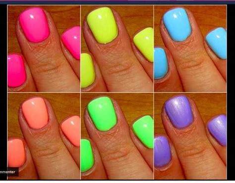 Neon Nail Polish!