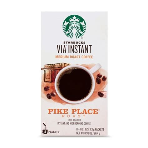 Our experts reviewed the top ten best available in instant coffee reached peak popularity in the us in the 1970s, and it's been a staple around the. Starbucks VIA Instant Pike Place Roast Medium Roast Coffee - 8ct : Target