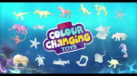 color changing toys crax colour changing toys promo sea animal