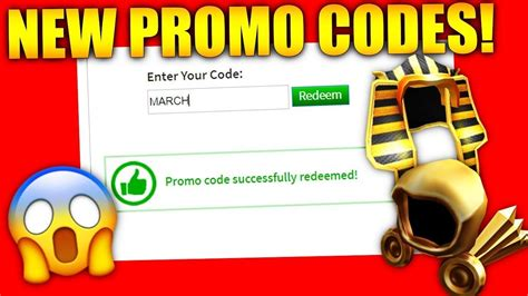 working roblox promo codes robux offers