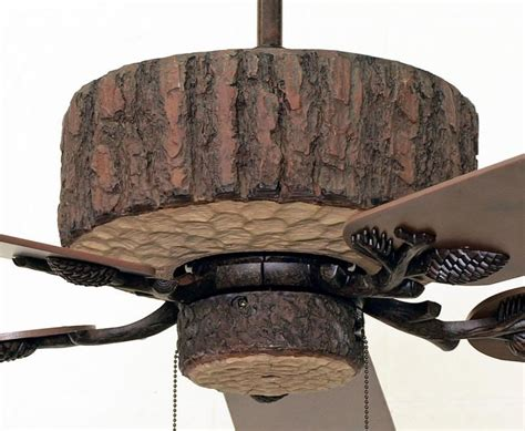 pine valley ceiling fan rustic lighting  fans