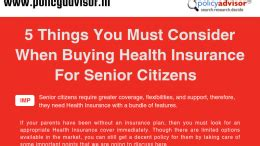 Hence, the best insurance companies in india have put forward some excellent healthcare plans for senior citizens. Gift your parents a senior citizen health insurance plan