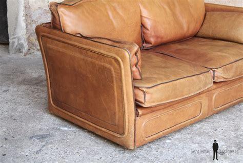 canap cuir confortable canapé esprit desede cuir brun confortable gentlemen