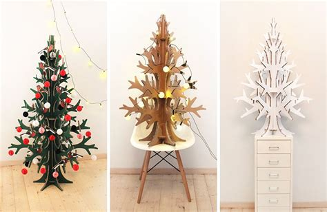 can you trim a christmas tree 12 modern trees you can decorate with this season contemporist