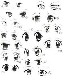 Drawing Anime Eyes Female