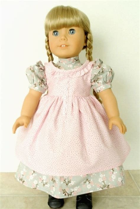 1854 Designer Doll Outfit Prairie Ruffles Doll Dress with ...