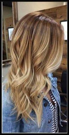 braune haare mit blonden strähnen bilder die 16 besten bilder haare mit str 228 hnen in 2019