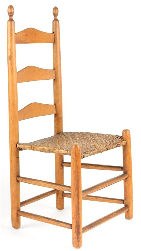 18th century american ladder back chair for sale at 1stdibs
