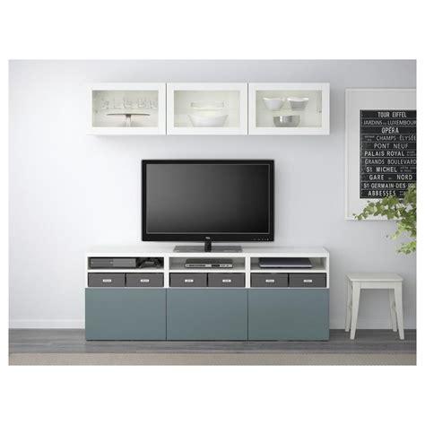 Ikea Regal Türkis by Best 197 Tv Schrank Kombination Glast 252 R Wei 223 Grau