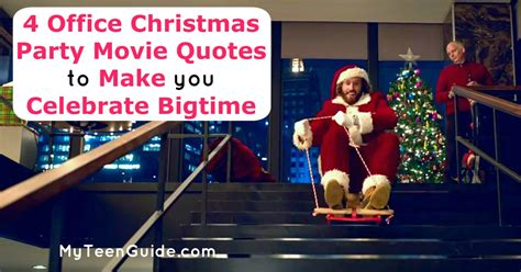 4 office christmas party movie quotes to make you celebrate