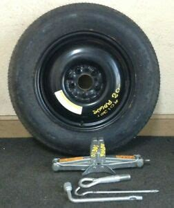 2008 2009 nissan rogue spare tire donut t155 90d with tools oem ebay