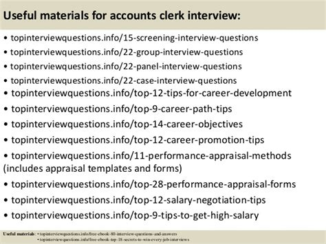Accounts Clerk Questions And Answers by Top 10 Accounts Clerk Questions And Answers