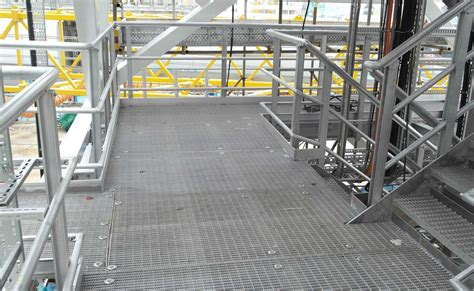 Quicklock™ Aluminium Handrail And Walkway System