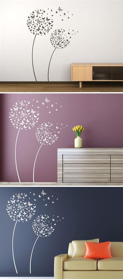 Wandgestaltung Kinderzimmer Blumen by Schmetterlingsblumen In 2019 Wandtattoo Blumen Gr 228 Ser