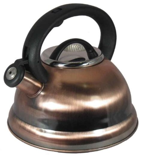 kettle tea whistling copper stainless steel kettles induction pot base alpine finish stove encapsulated pots antique dutch cooktops whistle 1844